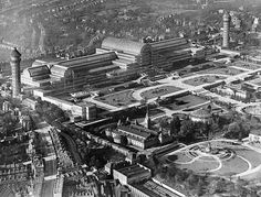 Crystal Palace Ariel View 1930s JRP | Flickr - Photo Sharing!