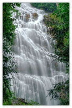 Bridal Veil Falls, British Columbia. Canada  So beautiful but watch out for the mosquitos!