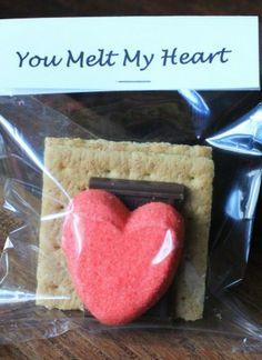 My husband LOVES peeps! I'm definitely making him this homemade valentine this year!