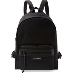 Longchamp Women s Le Pliage NÃo Small Nylon Backpack - Black ( 249) ❤ liked  on Polyvore featuring bags, backpacks, black, zip top bag, longchamp  backpack, ... 7f48fffc07