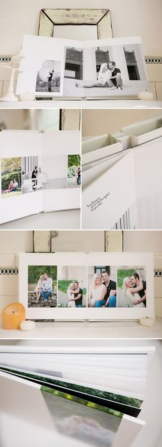 Fine Art Albums (by Vision Art)-    Perfect for your portrait session, wedding or guest book albums