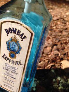 375ML Bombay Sapphire Soap/Liquid Dispenser 375ML (Resin Coated) on Etsy, $37.00