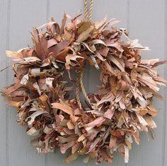 Birch Bark Wreath - I just love this!!
