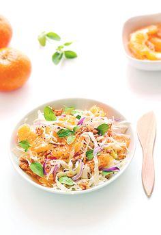 Sabores de Canela: Salada de tangerina e  couve
