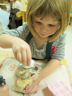 """Silver Polishing. This is a traditional Montessori activity that goes way back to Dr. Maria Montessori's first """"Casa dei Bambini."""" The point..."""
