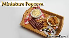 Miniature Popcorn - Polymer clay tutorial