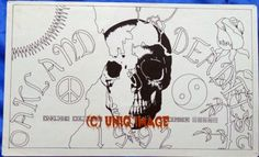 Original-Grateful-Dead-Tour-Poster-1992-9x14-Oakland-Deadfest-December-Deadhead