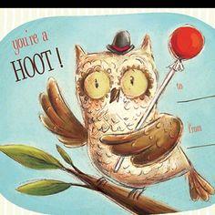 Owl valentines.
