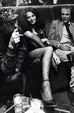 DVF in the 70's. So fab.