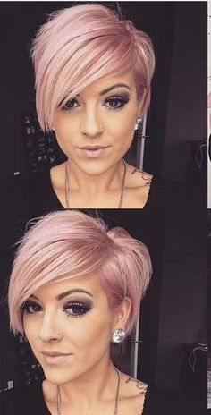 kurze Frisuren - short+hairstyles+with+long+bangs+-+short+asymmetrical+haircut - Im Pin Long Pixie Hairstyles, Short Pixie Haircuts, Cool Hairstyles, Hairstyles 2016, Haircut Short, Hairstyle Ideas, Choppy Haircuts, Short Hair Long Bangs, Poxie Haircut
