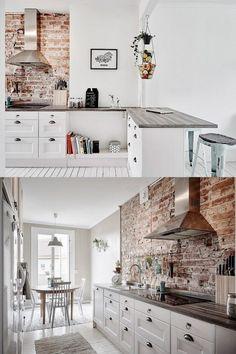 Combinación del estilo industrial y Vintage / http://www.mivinteriores.com/