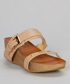 This Sand Bowie Platform Sandal is perfect! #zulilyfinds