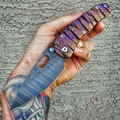 @Regrann from @gearflics - This man can make a knife! @dsktactical ・・・ #dskstyle #dsk #dsktactical #tacticalknife #handmade #grailknives #grail #gettinshitdone #azmob #customknife #diamondback - #regrann