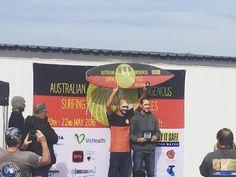 Huge congrats to Russ Molony for taking out the Australian Indigenous Surf Titles at Bells Beach this weekend #australianindigenoussurftitles #bellsbeach #jurakisurfculture #juraki #surf #culture by juraki_surf http://ift.tt/1KnoFsa