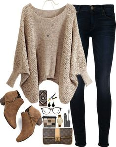 Style ideas for fall and winter for women on the go! These comfortable but stylish clothes and accessories are great for moms, but really for anyone that wants to coordinate and accessorize their wardrobe. Source by citygirlgonemom clothes for fall Mode Outfits, Stylish Outfits, Fashion Outfits, Womens Fashion, Stylish Clothes, Cute Clothes For Women, Hijab Fashion, Looks Chic, Looks Style