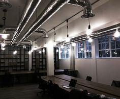 'Warm' Industrial Office Interior Design by Renata Jonauskaite (Interior Architect/Designer) renatajonauskaite@gmail.com