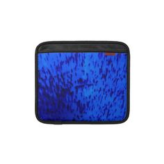 Cobalt Blue Earthenware iPad Sleeve    *This design is available on several other products.