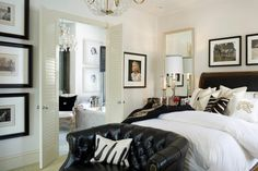 Joy Tribout Interior Design - very Ralph Lauren style - opulent and dramatic; lots of contrast