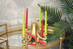 Eclectic Vases, Eclectic Decor, Colour Pop, Color, Head Planters, Candle Sticks, Indoor Plant Pots, Quirky Home Decor, Taper Candles