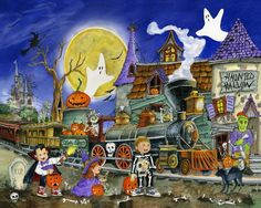 Jigsaw Puzzles Halloween Jigsaw Puzzles 1000 Piece Puzzles Haunted House Puzzle #VermontChristmasCompany