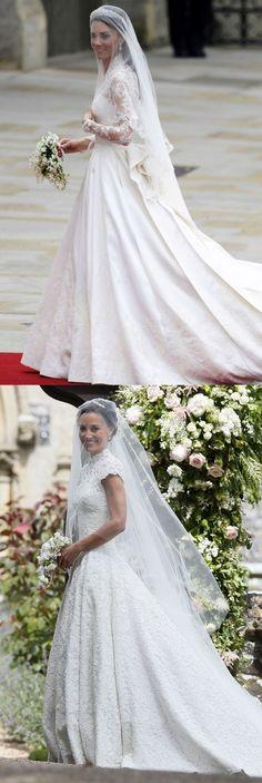 20 mai 2017  Le voile.  Le mariage de Pippa Middleton qui sont exactement les mêmes