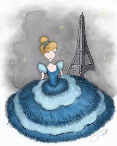 Paris Fashion Cinderella