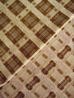 RARE Antique Pennsylvania German Woven Coverlet Triple Width Overshot C 1780'S | eBay