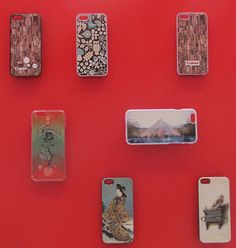 Relief graphics phone cases - Digital relief print on the Canon Océ Arizona flatbed system
