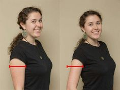 Right position make look thinner and better.