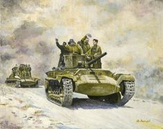 The Valentine was sent to the Soviet Union in large numbers, and were used in front line armoured units. In August 1942 the Soviet Government Purchasing Commission asked for more Valentines, praising their combat performance. The 2-pounder gun wasn't so popular, but the simple reliable design of the tank and its reasonable speed meant it compared well to other British tanks sent to Russia.
