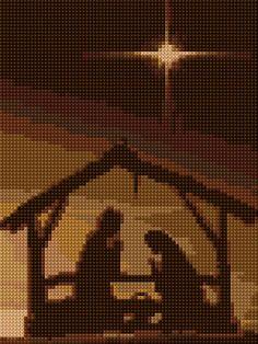 Cross Stitch | Nativity xstitch Chart | Design