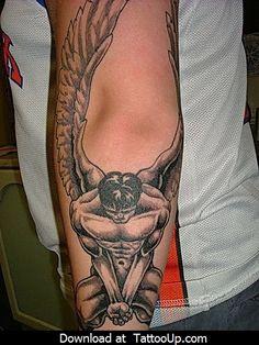 angel tattoo designs men by angeltattoo, via Flickr