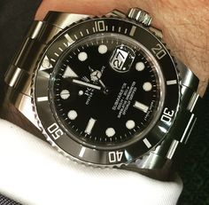 A new arrival today #Rolex Submariner #116610LN 2011 with box and papers in mint condition £5950.00 #womw