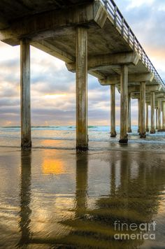 Scrips Pier - La Jolla, CA - walked to this pier in the mornings from our room on the beach - so relaxing