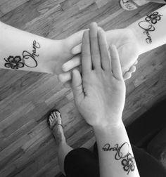 Matching Ohana tattoos!                                                                                                                                                                                 Más