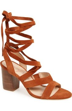 Sole Society 'Lyla' Lace-Up Sandal (Women) available at #Nordstrom