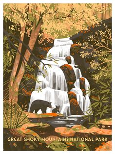 I had the wonderful opportunity to design a new screenprint for the Fifty-Nine Parks Print Series - a collection of prints designed by a variety of artists inspired by our great National Parks. Timed and open editions of the print are available right...