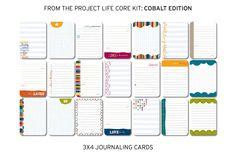 Amazon.com: Project Life Core Kit - Cobalt Edition
