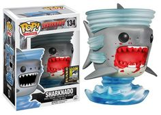 Funko San Diego Comic-Con 2014 ANNOUNCEMENT #7! Sharknado pop vinyl toy. Too cool. Cute designer toys and collectibles. Kawaii!