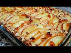 Torta di Mele e crema pasticceria più buona del mondo! Apple pie and pastry cream🍎 - YouTube Apple Desserts, Party Desserts, Apple Recipes, Cake Recipes, Dessert Recipes, Sweet Bread, Food And Drink, Sweets, Cooking
