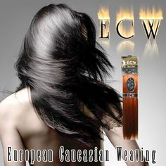 ECW European Caucasian Weaving Weft Human Hair for Hair Extensions 18 - 20 Inches 8 by Black n Gold. $84.95. Unique color selection including Tomato Red, Green, and Blue!. Superior grade. Unidirectional double drawn hair. Hair is 100 percent human and 18-20 inches long. Super silky texture. ECW hair extensions are 80-90 percent remy cuticle hair.  ECW comes in many natural and electrifying colors. European Caucasian Weaving hair is superior grade which means it will last muc...