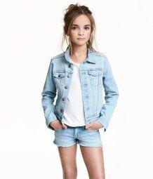 Denim Jacket   Light denim blue   Kids   H&M US