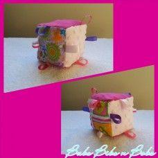 Pink Taggie Block 1