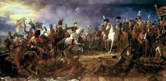 Napoleon at the Battle of Austerlitz, by François Gérard 1805. The Battle of Austerlitz, also known as the Battle of the Three Emperors, was Napoleon's greatest victory, where the French Empire effectively crushed the Third Coalition and he commissioned the Arc de Triomphe to commemorate the victory.  Austria had to concede territory; the Peace of Pressburg led to the dissolution of the Holy Roman Empire and creation of the Confederation of the Rhine with Napoleon named as its Protector.