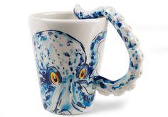 24 designs pieuvre tasse a cafe pieuvre   24 Designs pieuvre   verre tasse table poulpe portail pieuvre parapluie mug montre mobilier meuble...