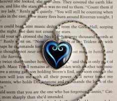 Handmade Kingdom Hearts Necklace Main Emblem logo symbol glass cabochon dome Pendant on Etsy, $16.20