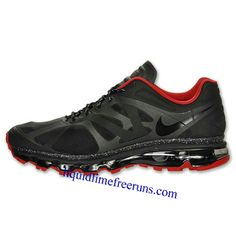 70b088090f7a Mens Nike Air Max 2012 Black Red Shoes Nike Shoes Outlet