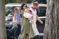 - Photo - Meghan Markle and Kate Middleton were seen with baby Archie Harrison, Prince George, Princess Charlotte and Prince Louis at the polo match, where Prince William and Prince Harry were competing in.