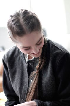 two braids in one