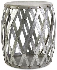Marne Garden Stool - would make a cute little side table